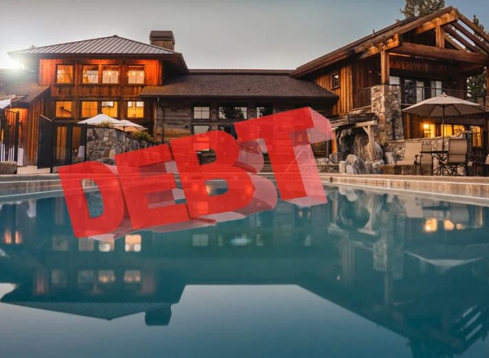 Vancouver Real Estate in Debt 温哥华楼市债务