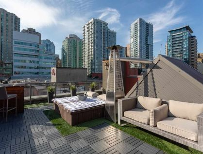 PH1 869 BEATTY ST Penthouse For Sale Vancouver West BC
